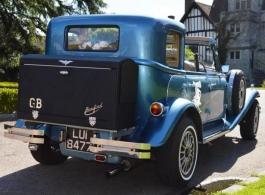 Vintage Beauford for weddings in Leeds